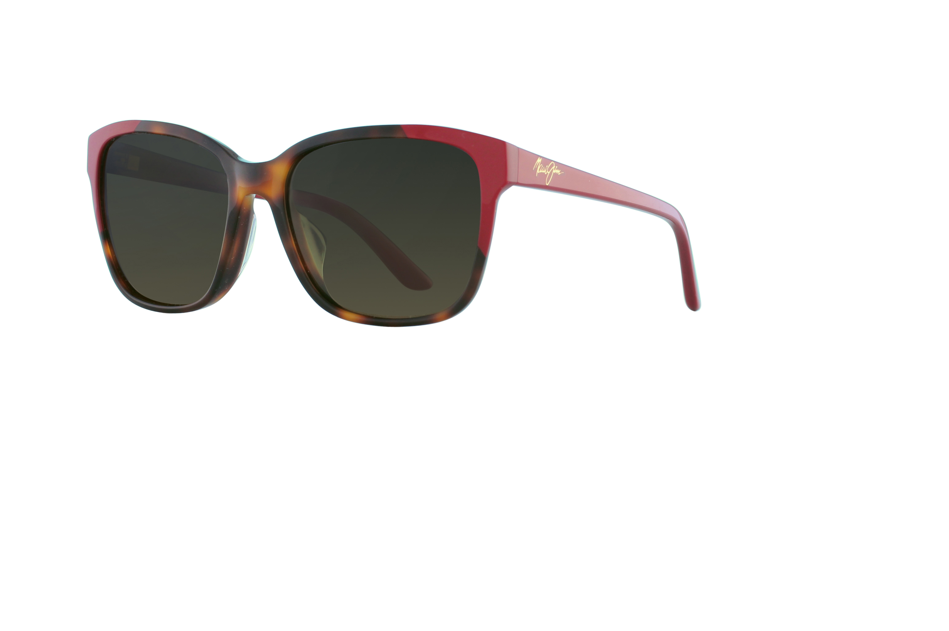 Maui Jim MOONBOW726-S-TORTOISEWITHRED-57-19-140